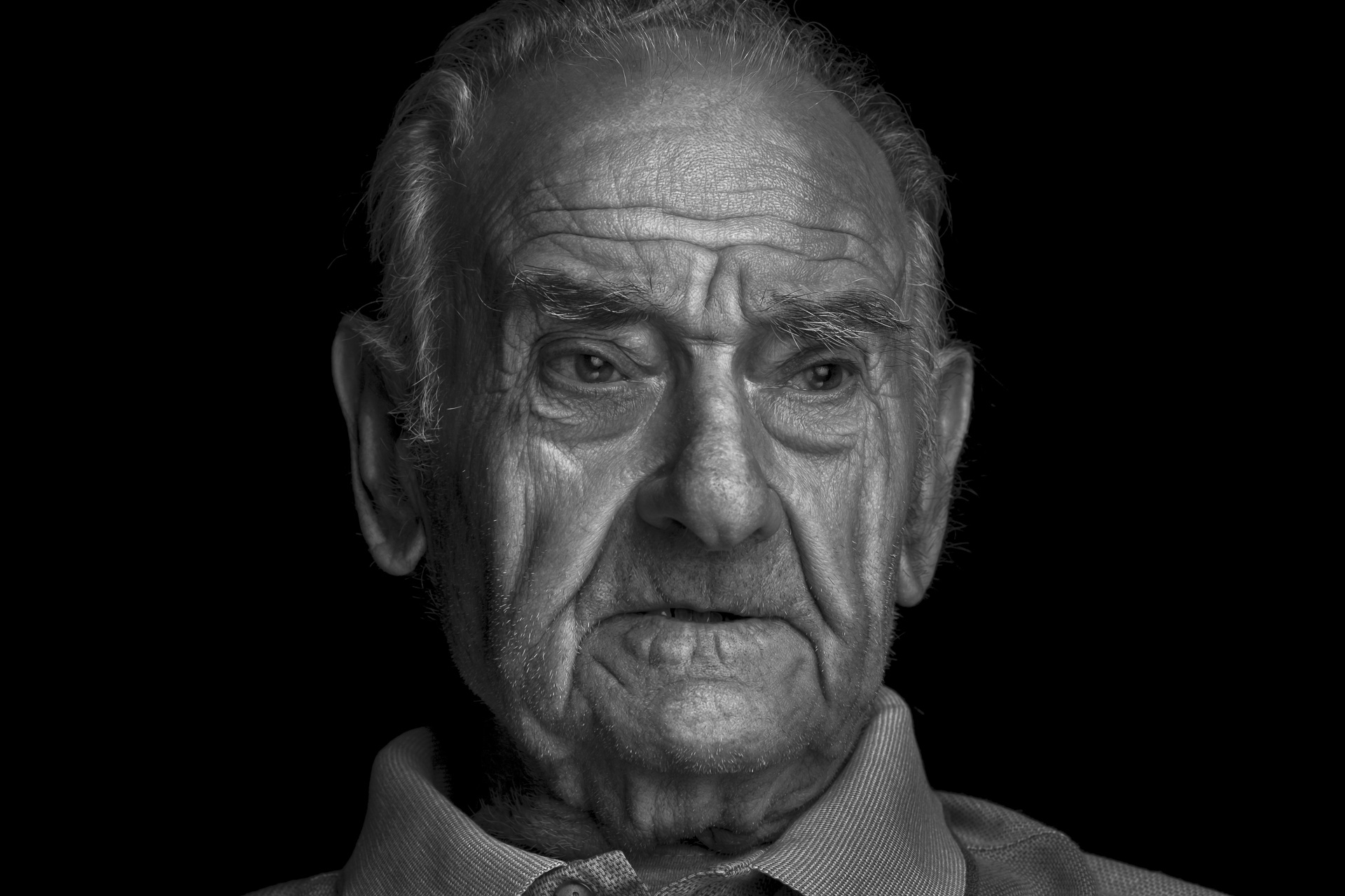 Old man portrait - Dario Nicolai